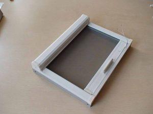 磁吸手拉式隐形纱窗