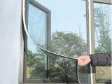 磁贴隐形纱窗